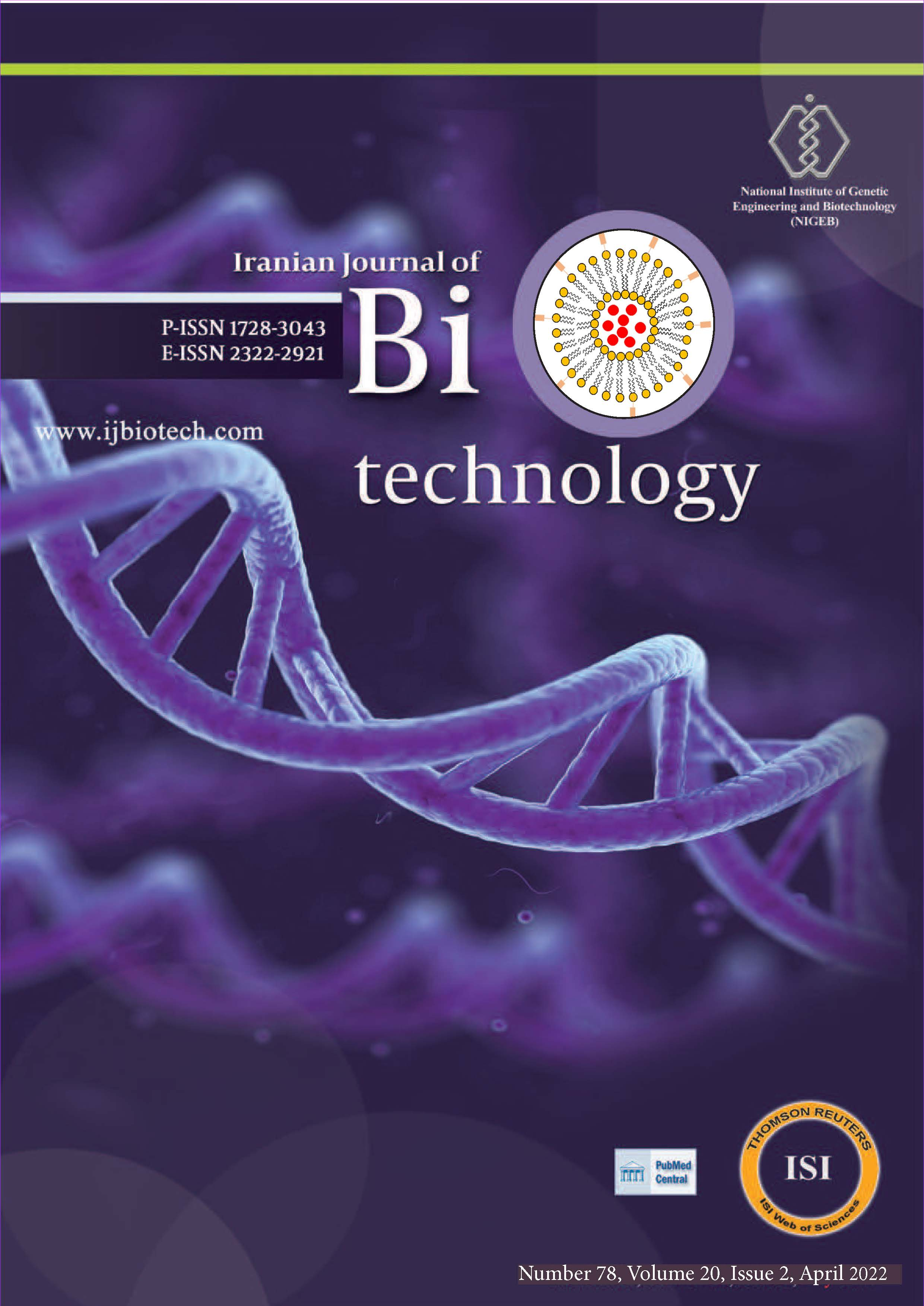 Iranian Journal of Biotechnology